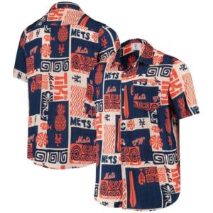 Vintage New York Mets Hawaiian Shirt
