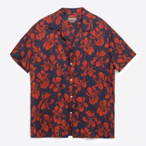 Harry Styles Tropical Flowers Hawaiian Shirt