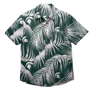 Michigan Sate Spartans Ncaa Men'S Hawaiian Shirt