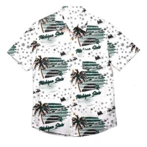 Michigan State Spartans Tropical Winter Hawaiian Shirt