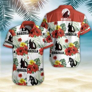 Godzilla Hawaii Shirt