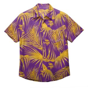 Minnesota Vikings Nfl Men'S Hawaiian Shirt