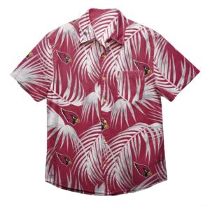 Arizona Cardinals Nfl Men'S Hawaiian Shirt