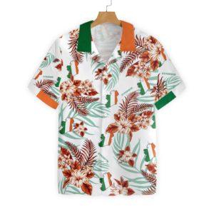 Irish Celtic Cross Ireland Proud Hawaiian Shirt