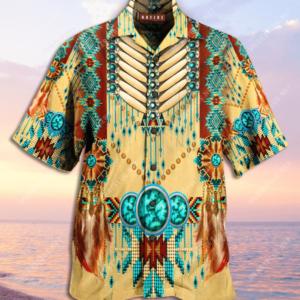 Proud Native American Unisex Hawaiian Shirt